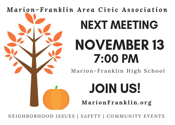 November Meeting Notice