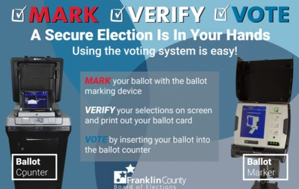 New Franklin County Voting System
