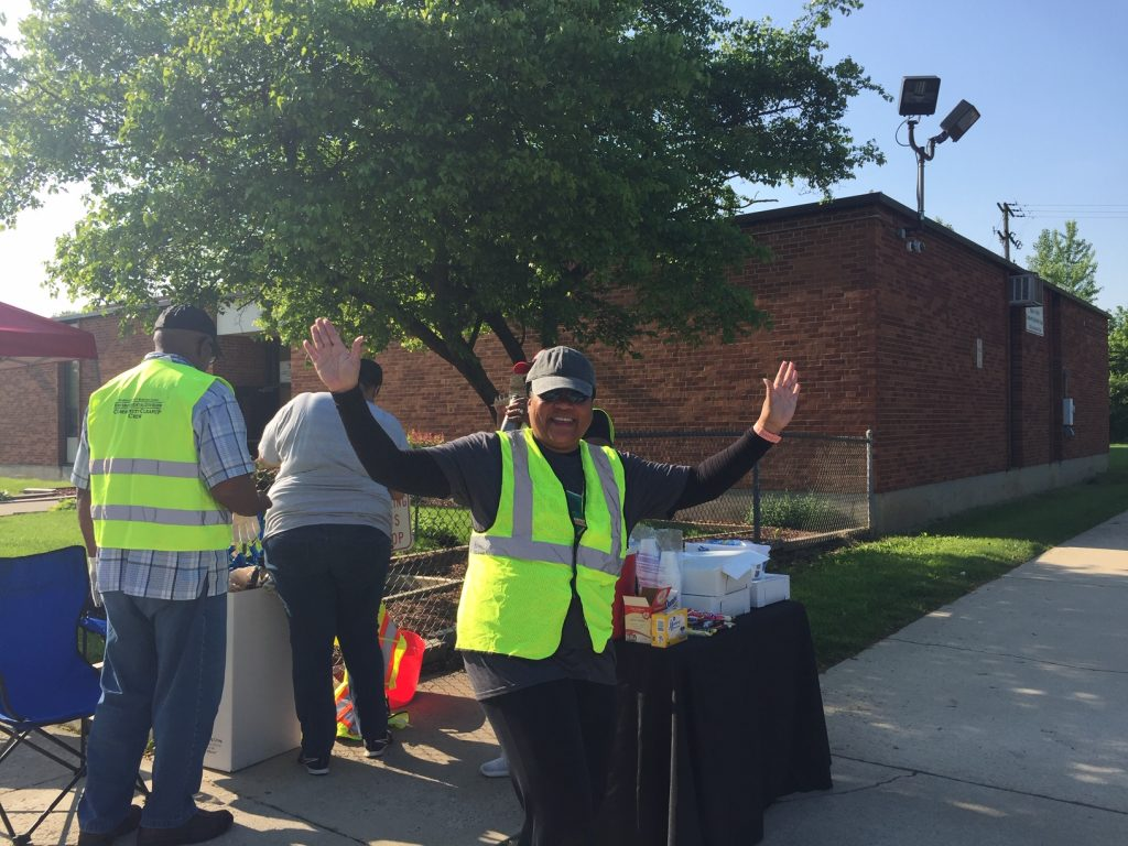 Marion-Franklin Civic Association Neighborhood Cleanup