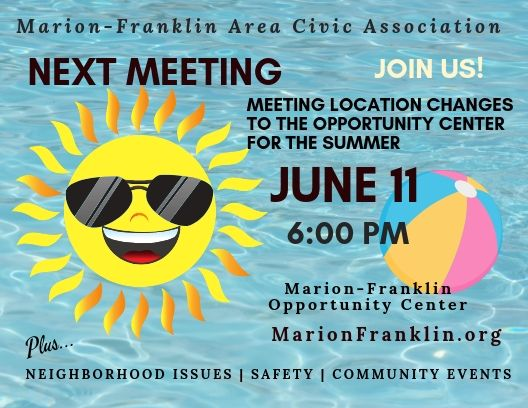 June Civic Association Meeting