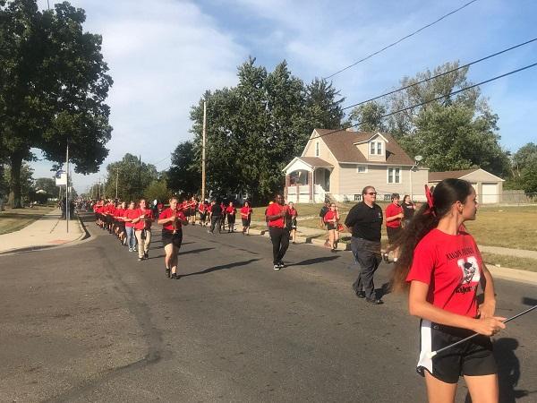 2019 Homecoming Marion-Franklin High School Parade