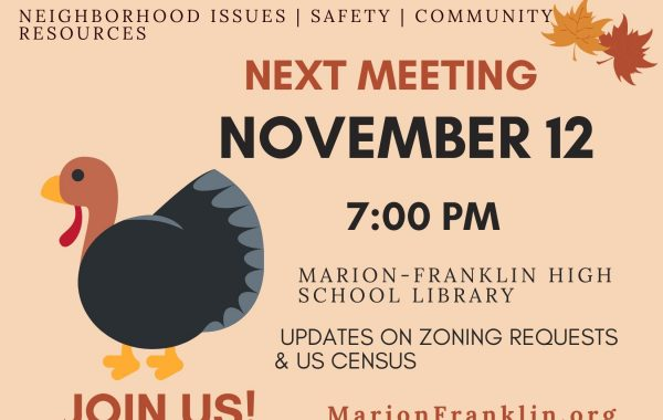 November Civic Meeting Notice