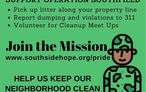 Join Operation Southfield Neighborhood Cleanup Meet Up