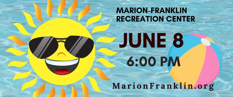 MARION-FRANKLIN CIVIC ASSOCIATION JUNE 2021 MEETING ANNOUNCEMENT